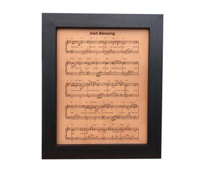 irish blessing leather sheet music