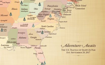 adventure is out there map