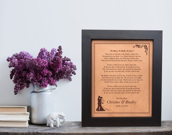 leather anniversary gift idea