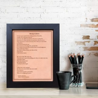 lawyer gift idea, musings on justice