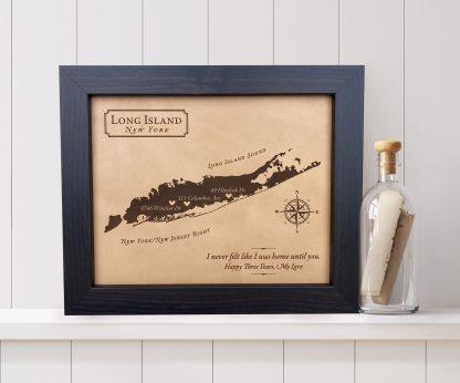 Long Island New York Love Map