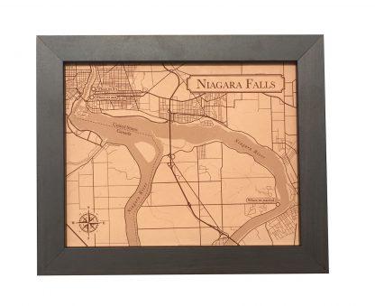 3rd anniversary, Niagara Falls Leather city map