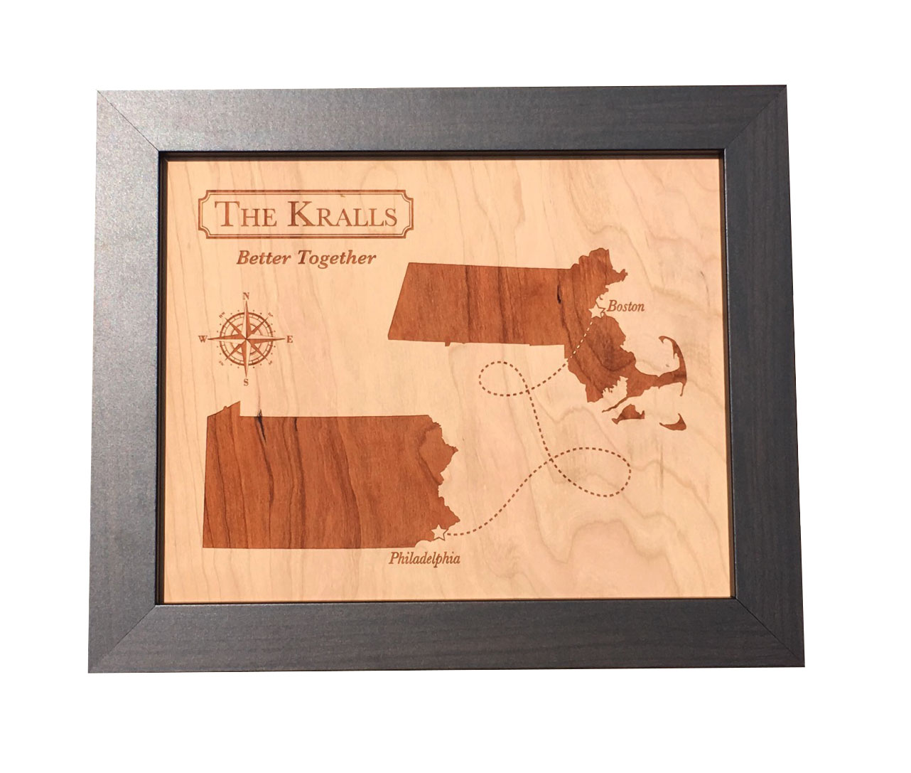 wood-anniversary-gift-wood-map