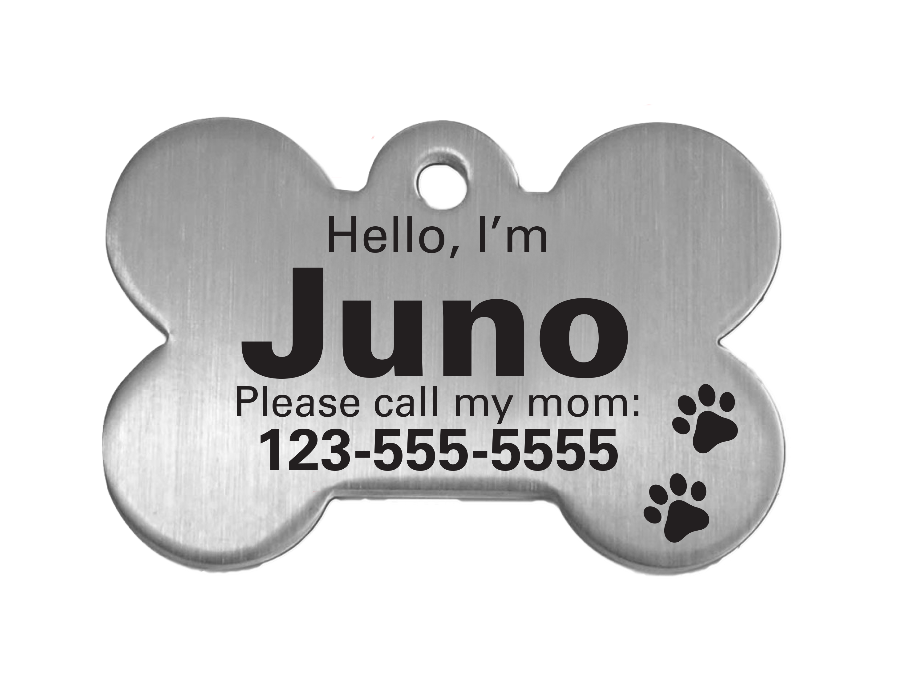 dog tag please call my mom