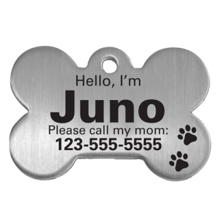 hello I'm dog tag