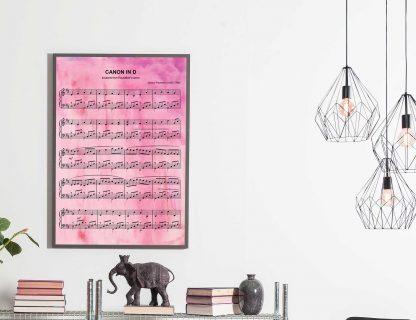 1st anniversary wedding song sheet music print
