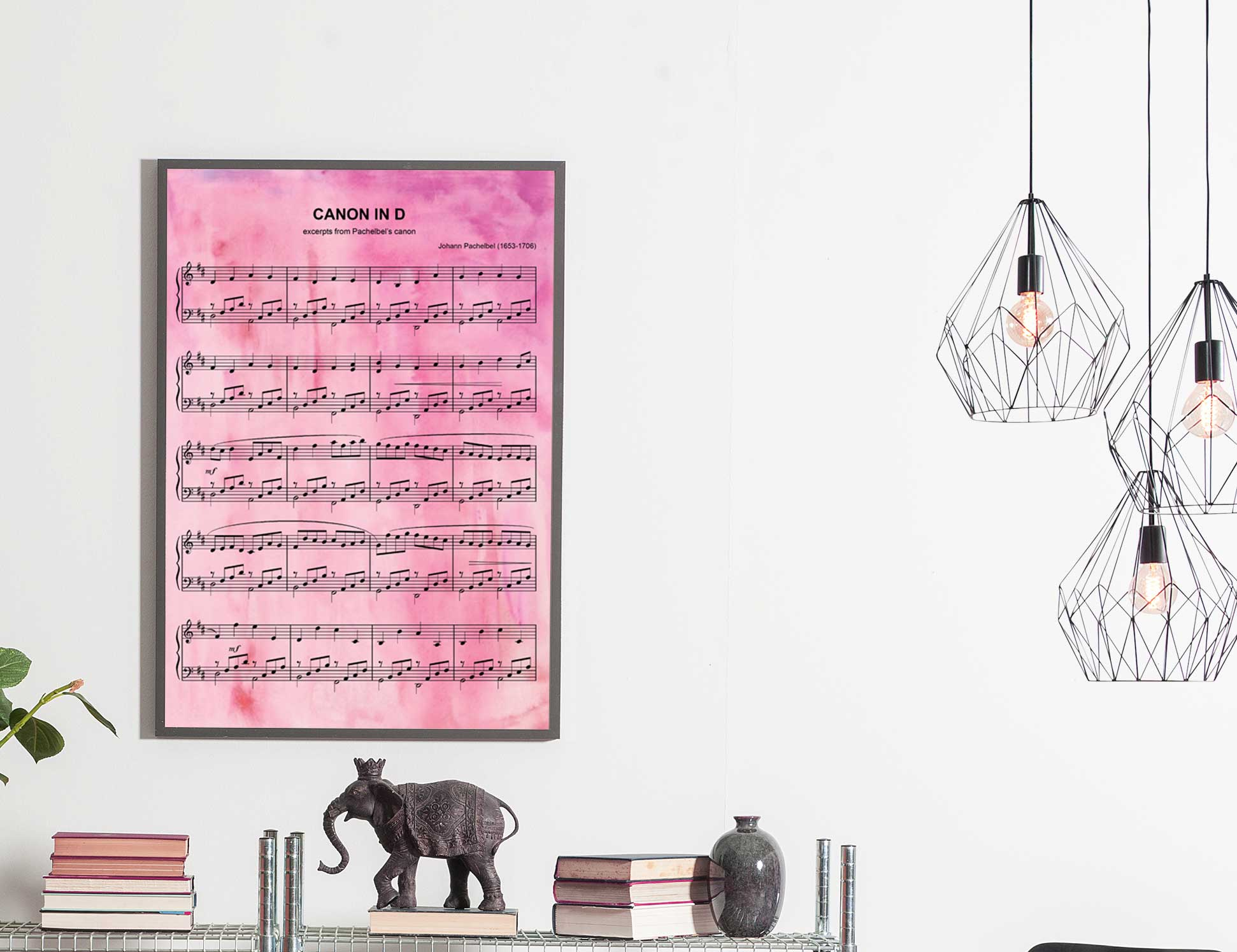 1st anniversary wedding song sheet music print