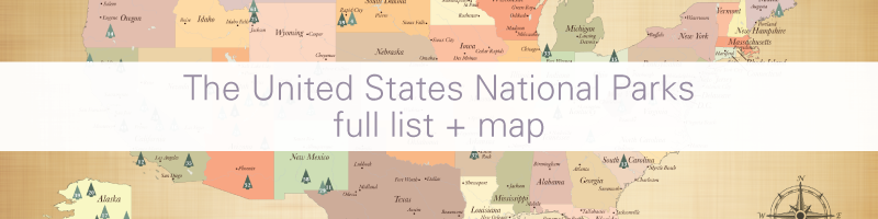 United States National Parks List