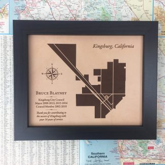 county map service award for city council member