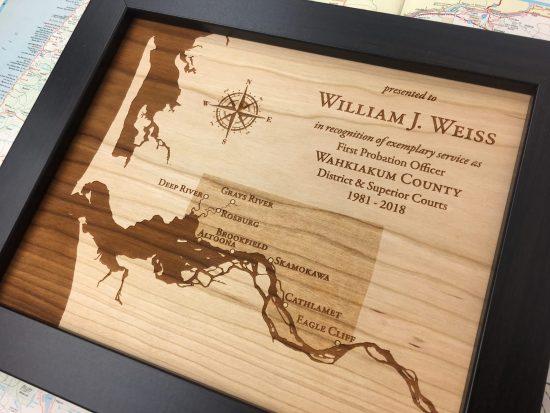 recognition award for first probation officer