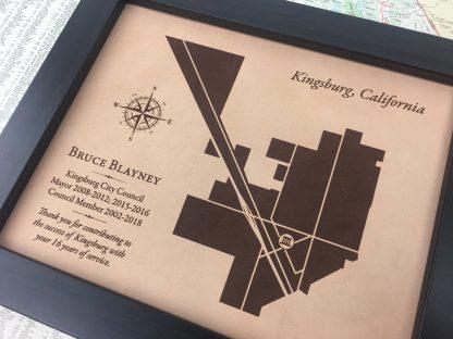 service award for city council mayor