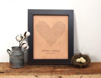 heart shaped leather lyrics