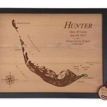 5th anniversary wood custom map