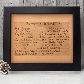custom recipe engraved art