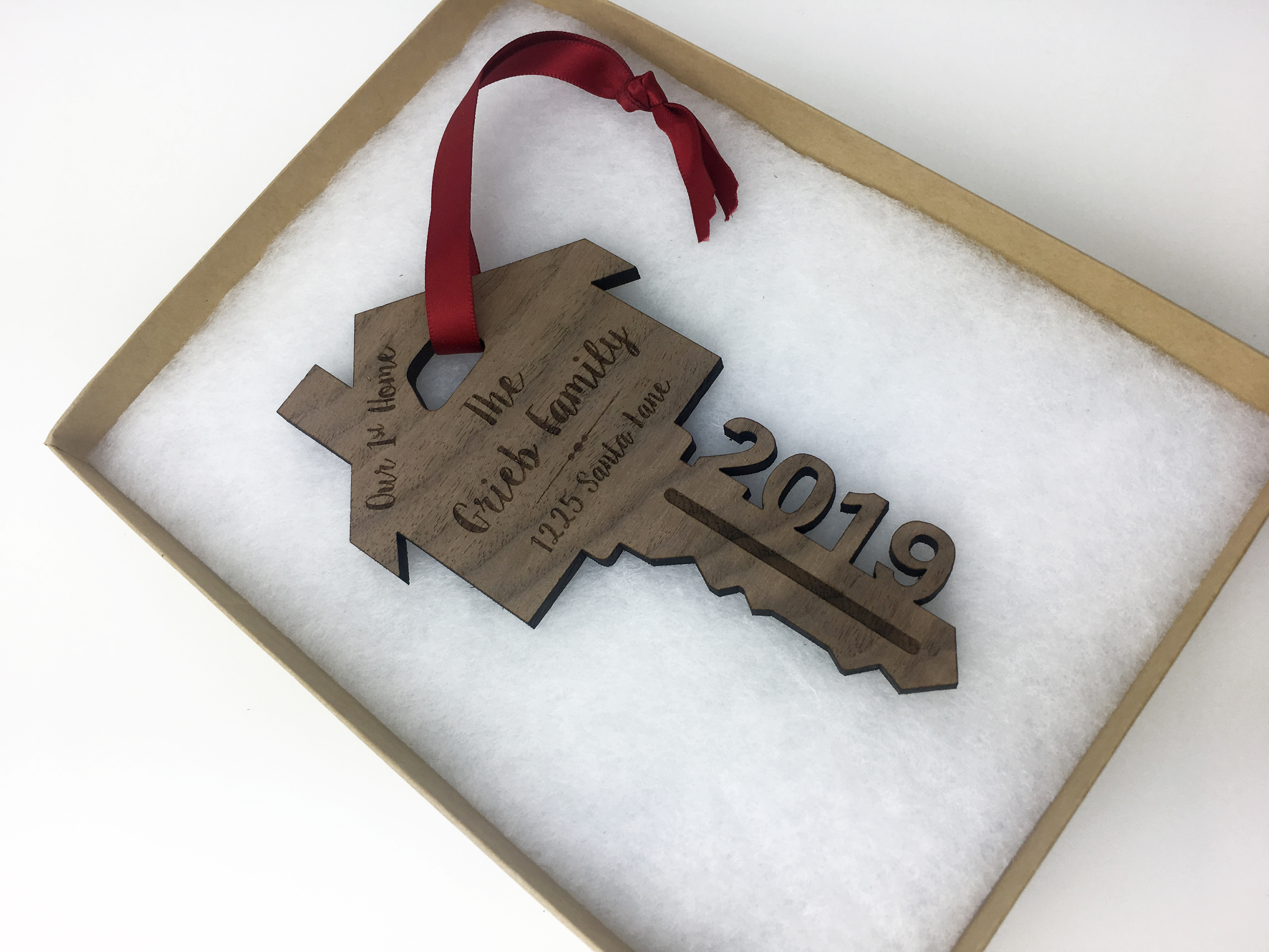our first home holiday ornament