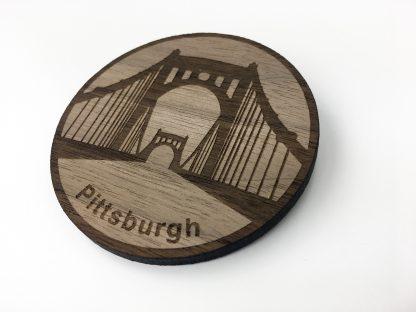 Roberto Clemente Bridge Fridge Magnet