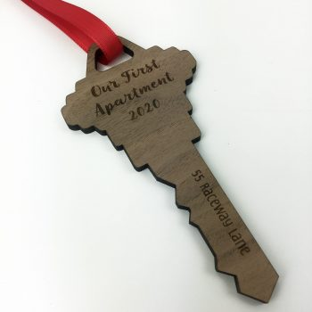 valetines day gift idea key ornament