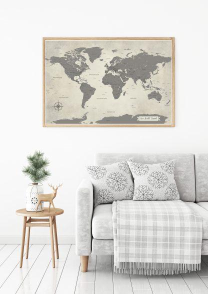 gray push pin map lifestyle image