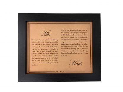his and hers vows, hers and hers vows, his and his vows