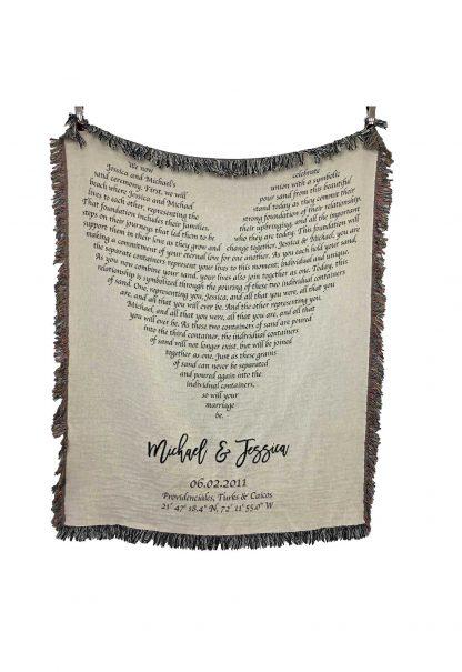 wedding vows heart lyrics blanket