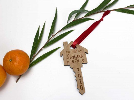 2020 house key ornament