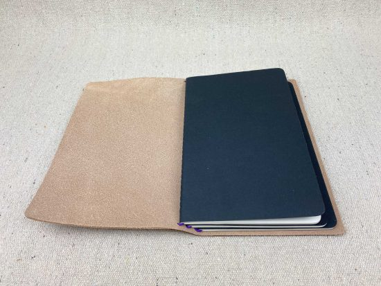 leather journal cover refillable